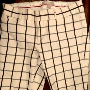 Banana Republic Ankle Pants (Size 4) Winter White